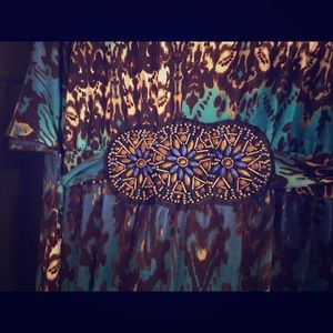 Plus size maxi dress.